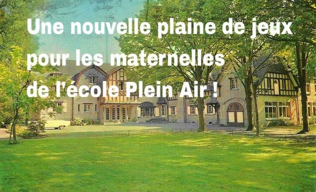Visuel du projet Une nouvelle plaine de jeux pour les maternelles de l'école Plein Air !