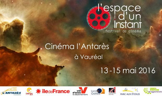 Visuel du projet L'espace d'un instant, festival de cinéma
