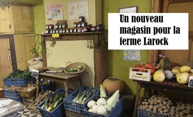 Visuel du projet Un nouveau magasin pour la ferme Larock