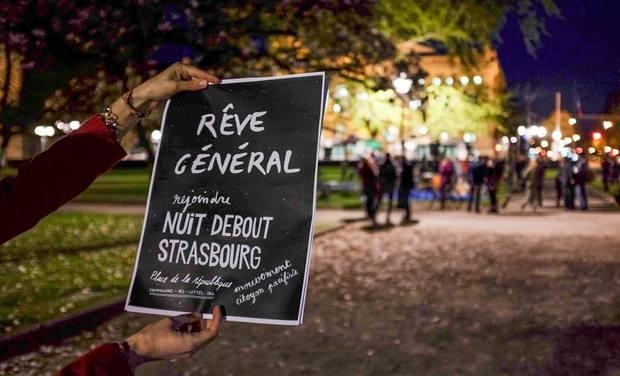Visuel du projet Nuit Debout Strasbourg : Convergence à Paris