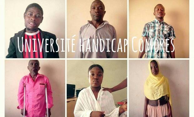 Visueel van project Université handicap Comores
