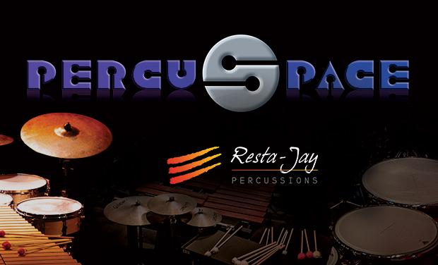 "Visuel du projet Le ""PercuSpace"" Resta-Jay Percussions"