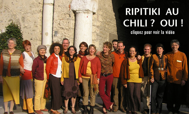 Visueel van project RIPITIKI en tournée au Chili ? OUI !