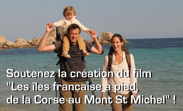 Visuel du projet Les îles françaises à pied, de la Corse au Mont St Michel