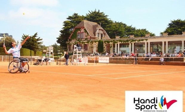 Project visual Tennis Handisport