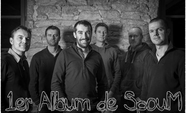 Visuel du projet Magnetik : 1er album de SpouM