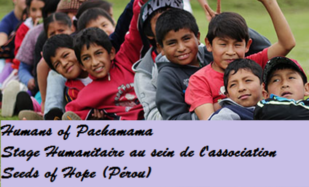 Project visual Aide Humanitaire - Seeds Of Hope Huaraz (Pérou)
