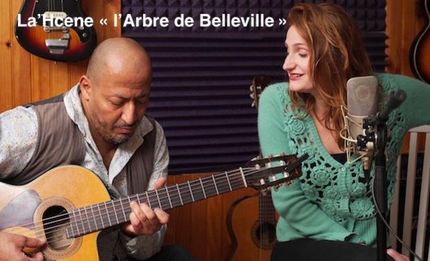 """Visueel van project Aide au Vidéo Clip de """"L'ABRE DE BELLEVILLE"""""""