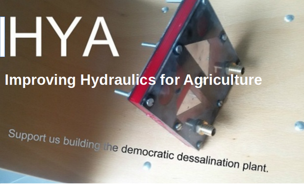 Visuel du projet IHYA Improve Hydraulic Yields in Agriculture