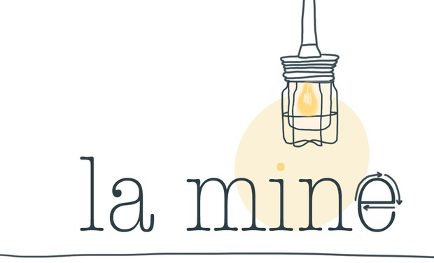 "Project visual La Ressourcerie ""La Mine"""