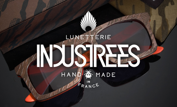 Project visual INDUSTREES   Lunetterie Handmade in France