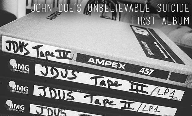 Visuel du projet John Doe's Unbelievable Suicide - First Album