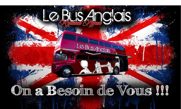 Project visual Le Bus Anglais Restaurant Nomade