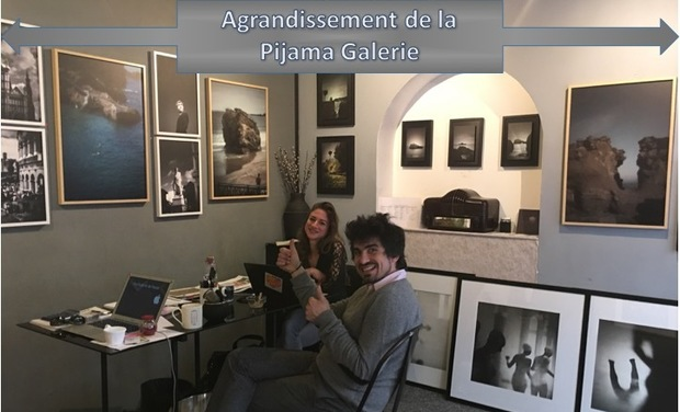 Project visual Agrandissement de la Pijama Galerie