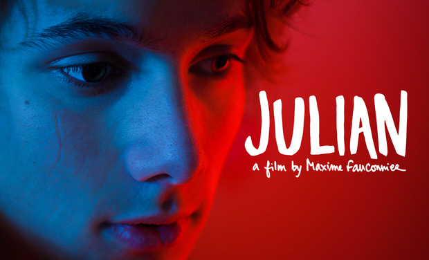 Project visual JULIAN, a film by Maxime Fauconnier