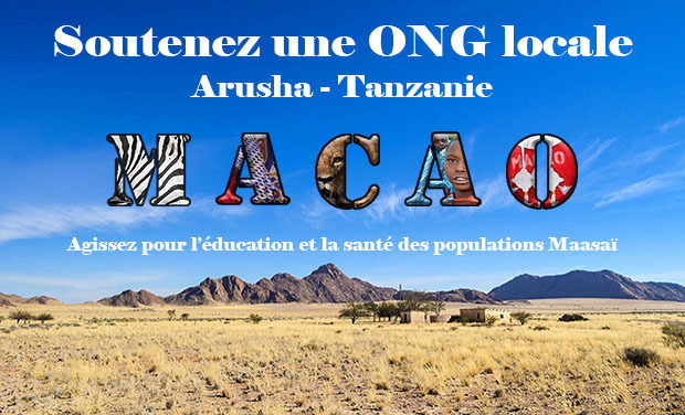 """Visuel du projet Soutenez une ONG locale : """"Arusha-Tanzanie"""""""