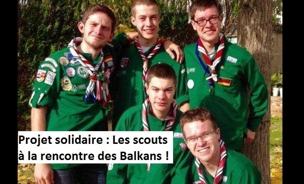 Visuel du projet Projet solidaire : les scouts à la rencontre des Balkans