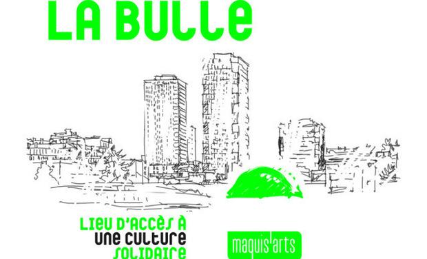 Visueel van project LA BULLE - Lieu d'accès à une culture solidaire