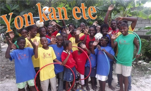 Project visual Yon kan ete (Un camp d'été)