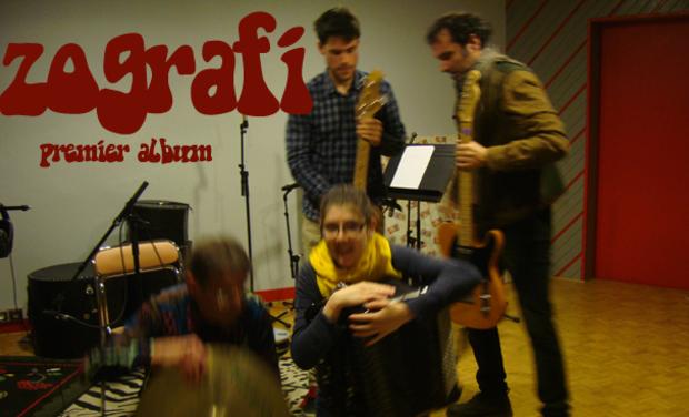 Visuel du projet ZOGRAFI, premier album