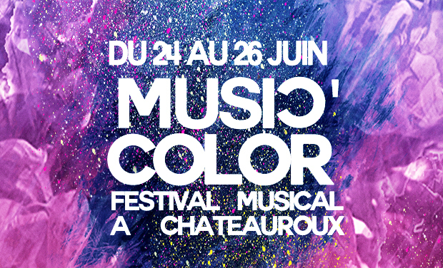 Visueel van project Donnez de la couleur au festival Music'Color !