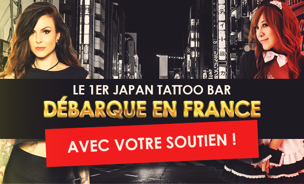 "Project visual Bar ""Otaku"" / Tatouages à Lille"