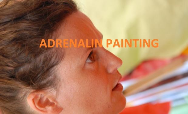 Visuel du projet ADRENALIN PAINTING