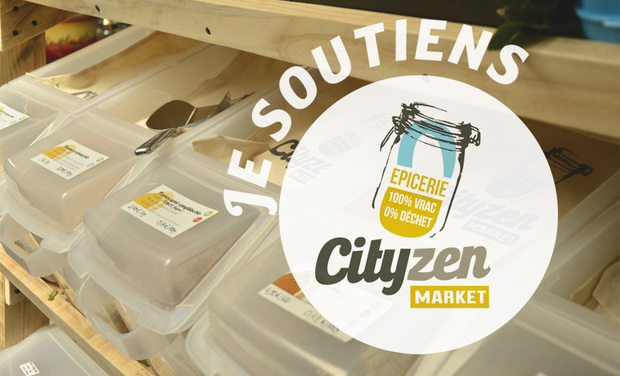 Project visual CityZen Market Epicerie Zéro Déchet & Solutions Anti-Gaspi