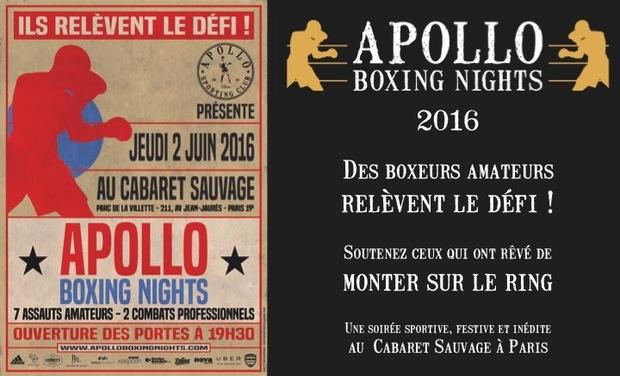 Visuel du projet Apollo Boxing Nights 2016