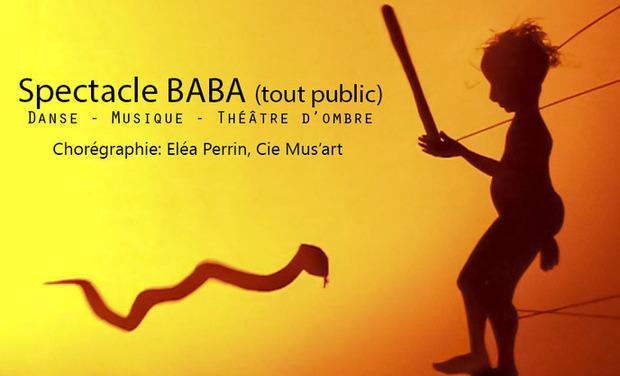 """Visueel van project Création chorégraphique """"BABA"""""""