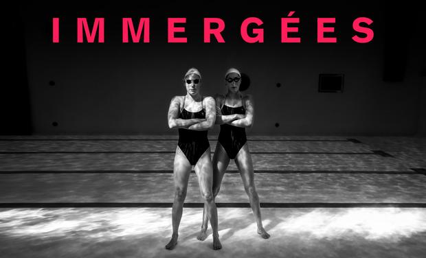 Visuel du projet Immergées, une année avec l'équipe de France de natation synchronisée