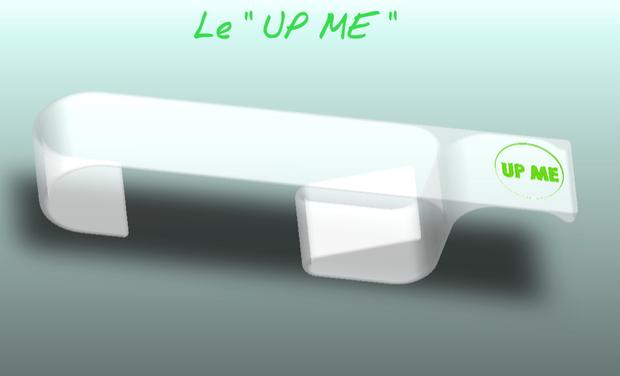 "Visuel du projet "" UP ME """