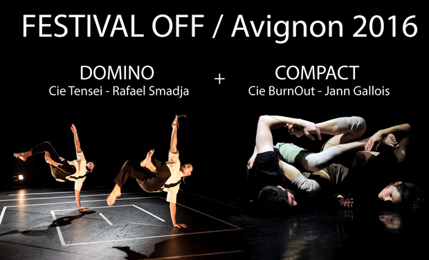 Project visual Domino + Compact au Festival OFF d'Avignon 2016