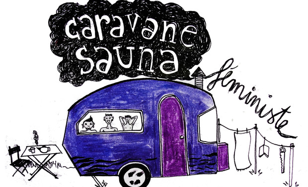 Project visual Construction d'une CARAVANE SAUNA féministe