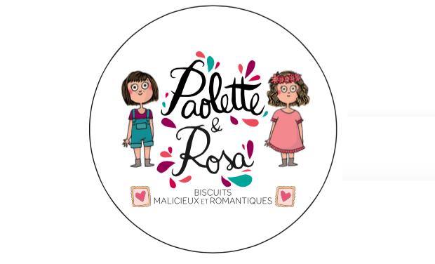 Visuel du projet Paolette & Rosa, biscuits malicieux et romantiques
