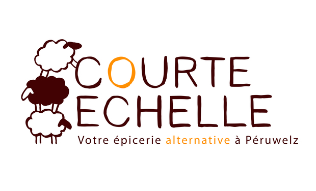 Project visual Courte Echelle, votre épicerie alternative à Péruwelz