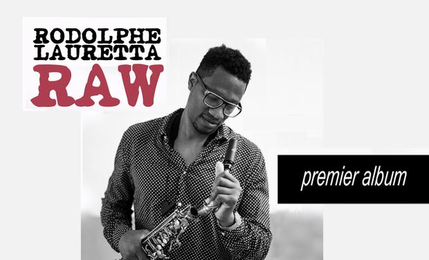 Visuel du projet Rodolphe Lauretta Raw Trio premier album