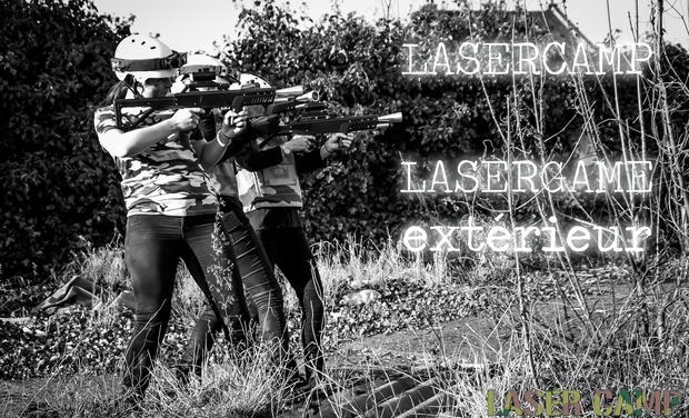 Visuel du projet LaserCamp : lasergame d'extérieur