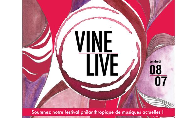 Visuel du projet VINELiVE Festival de Musique itinérant et caritatif