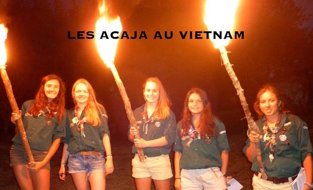 Visuel du projet Les ACAJA au Vietnam