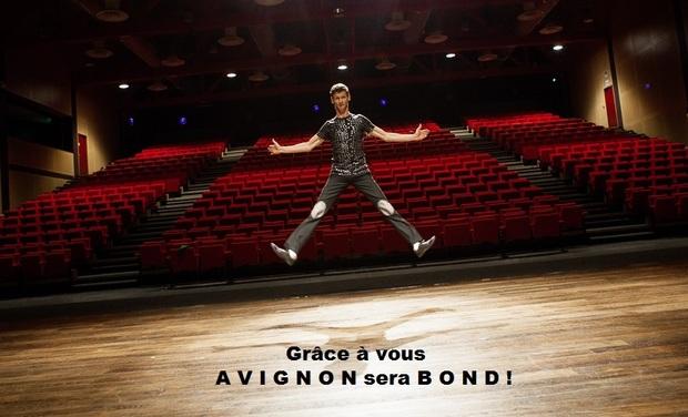 Visuel du projet Participez au financement de Patrik COTTET MOINE au festival OFF d'Avignon