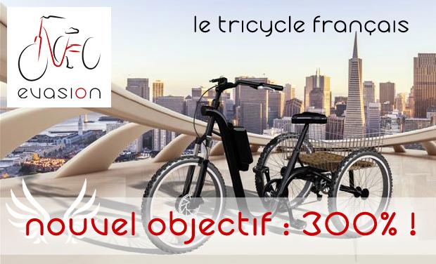 Visuel du projet Evasion, le tricycle électrique français