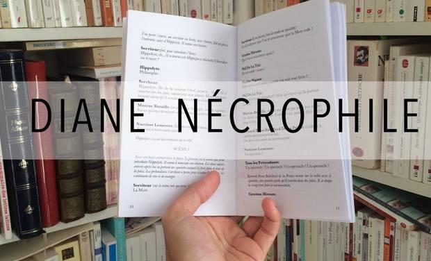 Visuel du projet Diane nécrophile - D'Abbesses Editions