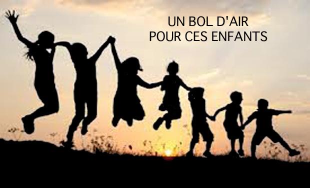 Visuel du projet Un bol d'air pour ces enfants
