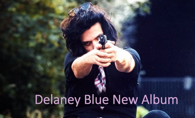 Visuel du projet Delaney Blue New Album