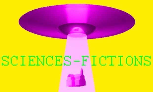 Visuel du projet Sciences-Fictions, une exposition à la chapelle Saint-Sauveur