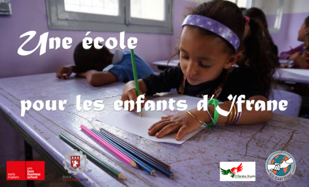 Visuel du projet Une école pour les enfants d'Ifrane