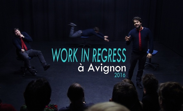 "Visuel du projet ""Work in Regress"" au Festival d'Avignon"