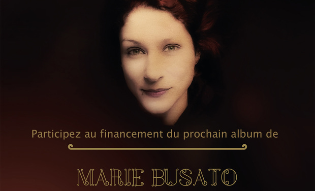 Visueel van project Enregistrement du disque de MARIE BUSATO
