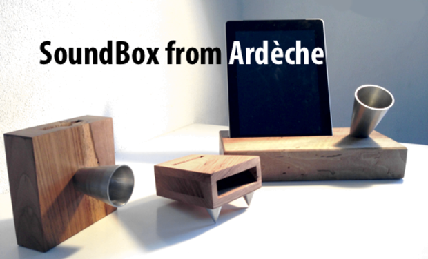 Project visual SoundBox from Ardèche